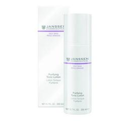 Janssen 4401 Oily Skin Purifying Tonic Lotion - Тоник для жирной кожи и кожи с акне, 200 мл