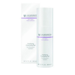 Janssen 4400 Oily Skin Clarifying Cleansing Gel - Очищающий гель, 200 мл
