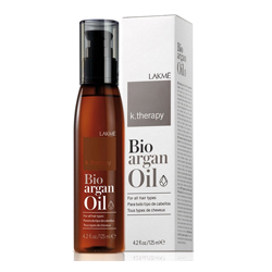 Lakme K.Therapy Bio-Agran Oil - Аргановое масло для увлажнения и ухода за волосами, 125 мл