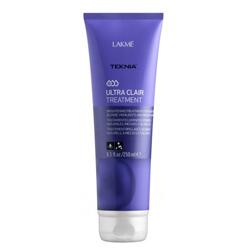 Lakme Teknia Ultra Clair Treatment - Средство придающее блеск светлым оттенкам волос 250 мл