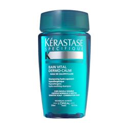 Sensidote Dermo-Calm - Шампунь-ванна для чувствительной кожи головы нормальных и смешанных волос 250 мл