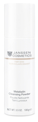 Janssen 3300P Fair Skin Melafadin Cleansing Powder - Осветляющая очищающая пудра, 100 г