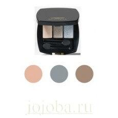 La Biosthetique Make-Up Diamonds & Pearls Glamour Eyeshadow (Home Line) - Компактные тени для век трехцветные Diamonds & Pearls (Домашняя линия), 3,2 г