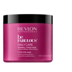 Revlon Be Fabulous Daily Care Normal Hair Thick Mask - Маска для нормальных и густых волос, 500 мл