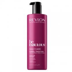 Revlon Be Fabulous Daily Care Normal Hair Thick Shampoo - Очищающий шампунь для нормальных и густых волос, 1000 мл