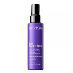 Revlon Be Fabulous Daily Care Fine Hair Volumizing Hair Spray - Очищающий спрей для тонких волос, 80 мл