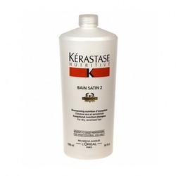 Kerastase Nutritive Bain Satin 2 - Шампунь-ванна для волос средней степени чувствительности, 1000 мл