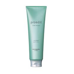 Lebel Proedit Care Works Soft Fit Plus Treatment - Маска для жестких, непослушных/очень поврежденных волос, 250 мл