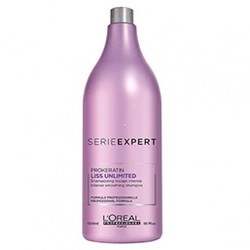 L'Oreal Professionnel Liss Unlimited Prokeratin Shampoo - Разглаживающий шампунь, 1500 мл