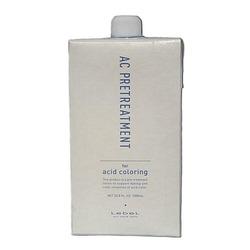 Lebel AC Pretreatment - Увлажняющий лосьон для обработки волос перед биоламинированием и окрашиванием, 1000мл