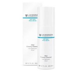Janssen 500 Dry Skin Mild Creamy Cleanser - Нежная очищающая эмульсия, 200 мл