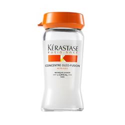Fusio-Dose Concentre Oleo-Fusion - Средство для глубокого питания сухих и чувствительных волос, 10*12 мл