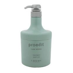 Lebel Proedit Care Works Soft Fit Treatment - Маска для жестких и непослушных волос, 600 мл