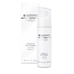Janssen 0031 Demanding Skin Vitaforce C Skin Complex - Регенерирующий концентрат с витамином С, 30 мл