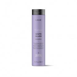 Lakme Teknia White Silver Shampoo - Тонирующий шампунь для нейтрализации желтого оттенка волос, 300 мл