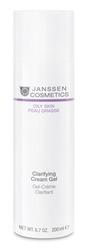 Janssen 4420P Oily Skin Clarifying Cream Gel - Себорегулирующий крем-гель, 150 мл