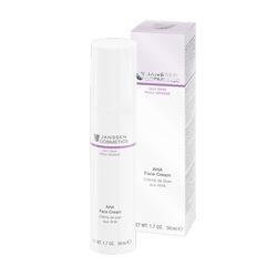 Janssen 4421 AHA Face Cream - Лёгкий активный крем с фруктовыми кислотами, 50 мл.