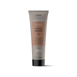 Lakme Teknia Refresh Cocoa Brown Mask - Маска для обновления цвета коричневых оттенков волос, 250 мл