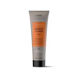 Lakme Teknia Refresh Saffron Copper Mask - Маска для обновления цвета медных оттенков волос, 250 мл
