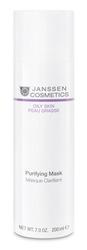 Janssen 4440P Oily Skin Purifying Mask - Себорегулирующая очищающая маска, 200 мл
