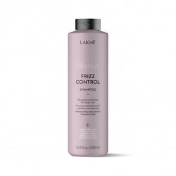 Lakme Teknia Frizz Control Shampoo - Бессульфатный дисциплинирующий шампунь для непослушных или вьющихся волос, 1000 мл