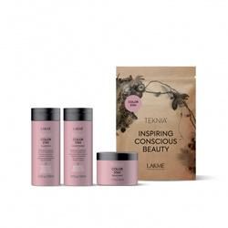 Lakme Teknia Color Stay Travel Pack - Дорожный набор для защиты цвета окрашенных волос