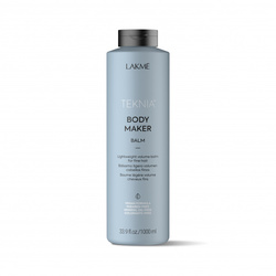 Lakme Teknia Body Maker Balm - Легкий бальзам для придания объема волосам, 1000 мл
