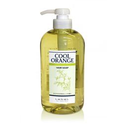 Lebel Cool Orange Hair Soap Cool - Шампунь для волос «Холодный Апельсин», 600 мл