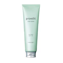 Lebel Proedit Care Works Soft Fit Treatment - Маска для жестких и непослушных волос, 250 мл