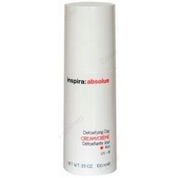 Inspira 5210P Absolue Detoxifying Day Cream Rich - Детоксицирующий обогащенный липидами дневной крем, 100 мл