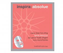 Inspira 5530P Luxury Silver Foil Lifting Mask - Роскошная лифтинг-маска с серебряной фольгой, 1 шт