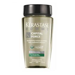 Kerastase Homme Capital Force Shampooing Anti-Oiliness Effect - Шампунь очищающий для жирных волос, 250 мл