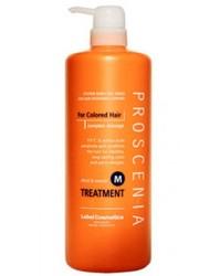 Lebel Proscenia Treatment M - Маска для окрашенных волос и волос после химического выпрямления, 980 мл