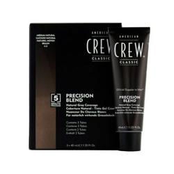 American Crew Precision Blend - Краска для седых волос натуральный оттенок 4/5, 3*40 мл
