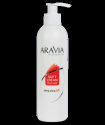 Aravia Professional - Сливки для восстановления рН кожи с маслом иланг-иланг (флакон с дозатором), 300 мл