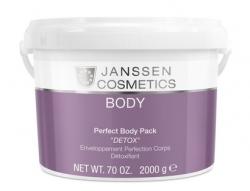 """Janssen 7400P Perfect Body Pack """"Detox"""" - Дренирующее очищающее обертывание с детоксицирующим действием, 2 кг"""