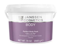 "Janssen 7480P Perfect Body Pack ""Cellulite"" - Стимулирующее антицеллюлитное обертывание, 2 кг"