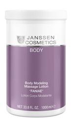 "Janssen 7560P Body Modeling Massage Lotion ""Faniae"" - Моделирующая массажная эмульсия Фания, 1000 мл"