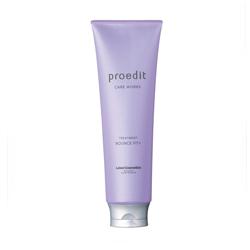 Lebel Proedit Care Works Bounce Fit Plus Treatment - Восстанавливающая маска для сильно поврежденных, сухих, ломких волос, 250 мл