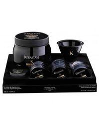 Chronologiste Kit - Набор (Маска + Концентрат ревитализирующий) для жизненной энергии волос, 500 мл+15*8 мл