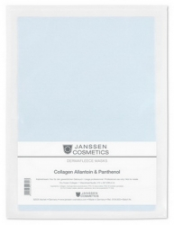 Janssen 8104.903 Collagen Allantoin & Panthenol - Коллаген с аллантоином и пантенолом (голубой лист), 1 лист