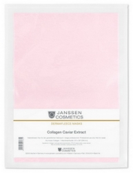 Janssen 8104.913 Collagen Caviar Extract - Коллаген с экстрактом икры (ярко-розовый лист), 1 лист