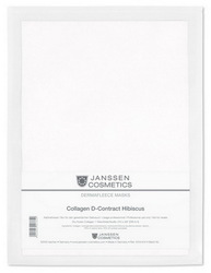 Janssen 8104.914 Dermafleece D-contract Hibiscus - Коллаген с экстрактом гибискуса (белый лист на белом), 1 лист