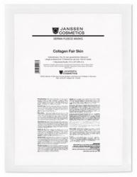 Janssen 8104.917 Collagen Fair Skin - Коллаген осветляющий (белый лист), 1 лист