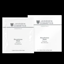 Janssen 8205P Biocellulose Mask - Интенсивно увлажняющая лифтинг-маска (биоцеллюлозная), 5 шт