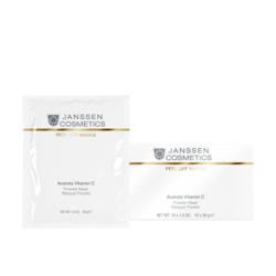 Janssen 007.P-832P Acerola Vitamin C Mask - Розовая моделирующая маска с ацеролой и витамином С, 500 гр