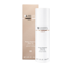 Janssen 8700.01 Perfect Radiance Make-up - Стойкий тональный крем с UV-защитой SPF-15 для всех типов кожи (порцелан), 30 мл