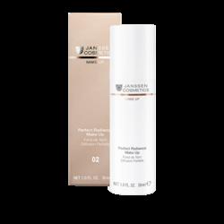 Janssen 8700.02 Perfect Radiance Make-up - Стойкий тональный крем с UV-защитой SPF-15 для всех типов кожи (олива), 30 мл