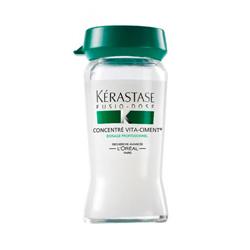 Fusio Dose Concentre Vita-Ciment - Укрепляющий концентрат для мгновенного восстановления поврежденных волос, 10*12 мл