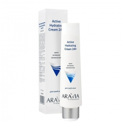ARAVIA Professional - Крем для лица активное увлажнение Active Hydrating Cream 24H, 100мл